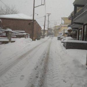 Πιθανές έντονες χιονοπτώσεις και στην περιοχή μας.