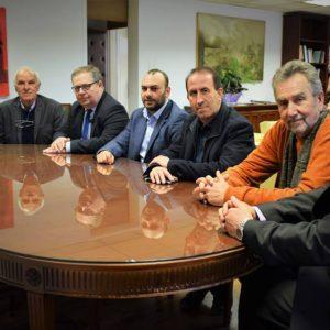 Συνάντηση στο γραφείο του Στ. Γιαννακίδη για σοβαρά ζητήματα της περιοχής Καβάλας