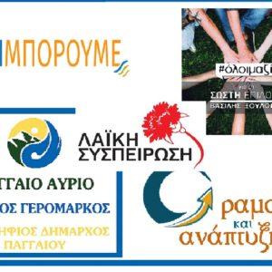 Τα επίσημα ψηφοδέλτια του Δ. Παγγαίου (όλα τα ονόματα)