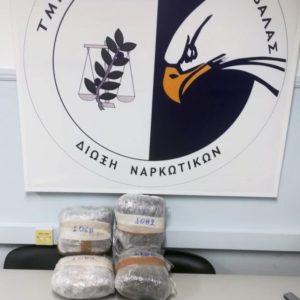 Καταδίωξη και σύλληψη εμπόρων ναρκωτικών στη Ν. Πέραμο