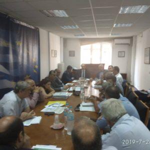 Συναντήσεις Γ. Πασχαλίδη για τους παραγωγούς