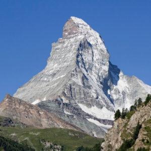 Δύο Καβαλιώτες ορειβάτες στην κορυφή του Matterhorn.