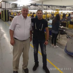 Επίσκεψη Γ. Πασχαλίδη στα συσκευαστήρια Παγγαίου