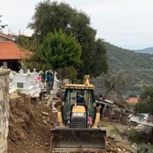 Ξεκίνησαν τα έργα αποκατάστασης στο κοιμητήριο Μυρτοφύτου.