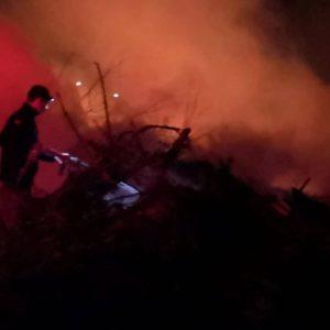 Νεα φωτιά σε σκουπιδότοπο
