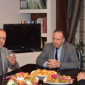 Επίσκεψη Θεόδωρου Καράογλου στον Δήμο Παγγαίου.