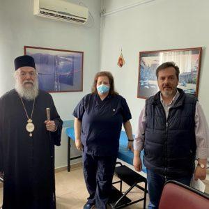 Δωρεά ιατρικού εξοπλισμού από τον Μητροπολίτη Ελευθερουπόλεως προς το Κέντρο Υγείας Ελευθερούπολης
