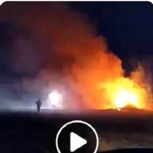Νέα φωτιά σε παράνομη χωματερή είχαμε και πάλι στον Δήμο Παγγαίου.