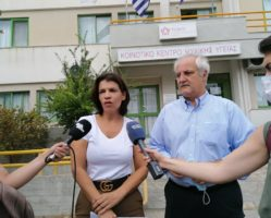 Επίσκεψη της Τ. Ελευθεριάδου στο Νοσοκομείο Καβάλας και την ΤΟΜΥ