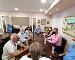 Επίσκεψη Νοτοπούλου στον Δήμο Παγγαίου